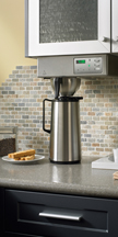 Electronic coffee brewers and servers for that perfect hot cup of joe