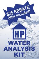 HousePure Water Analysis Kit FREE SHIPPING
