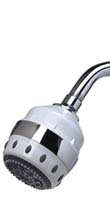 Royale Massaging Showerhead with Chrome
